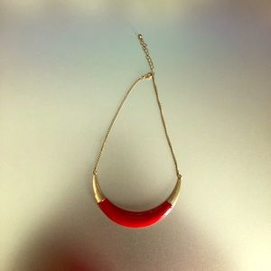Jewelry - Red/Gold Necklace